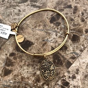 Alex and Ani gold Mom bracelet